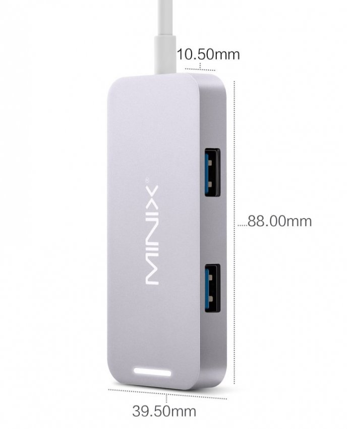MINIX NEO C-Mini, HDMI USB-C Adapter